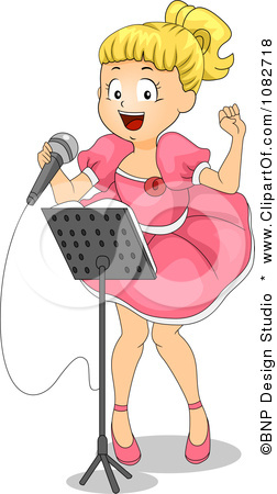 1082718-Clipart-Girl-Singing-A-Song-In-A-Talent-Show-Royalty-Free-Vector-Illustration